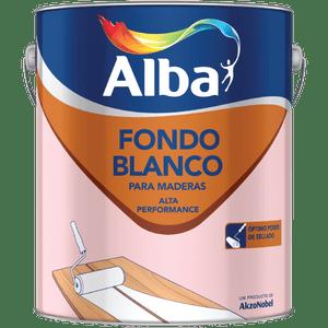 Fondo Blanco Para Maderas Alta Performance